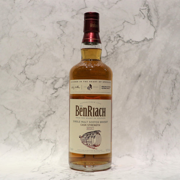 BenRiach Cask Strength Batch 1 - 70cl/57.2%
