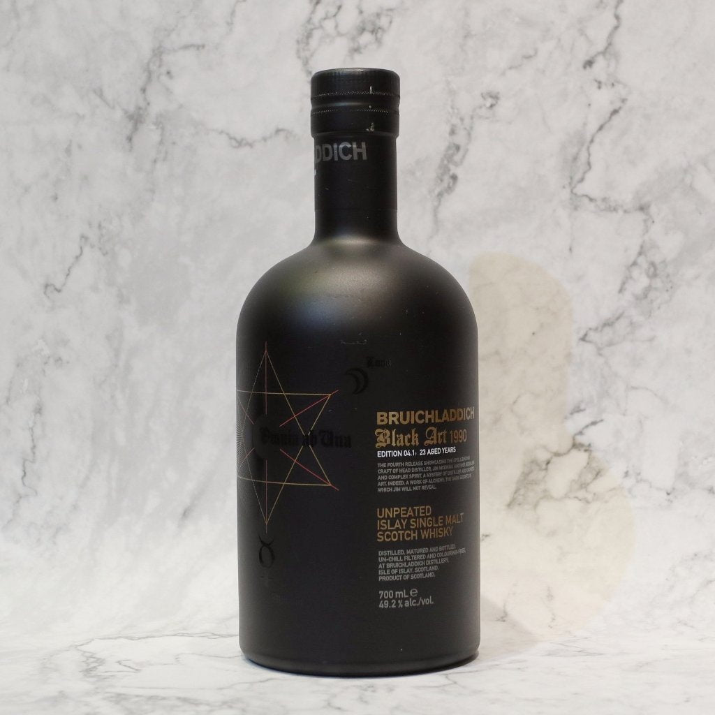 Bruichladdich Black Art 4 1990/23YO - 70cl/49.2%