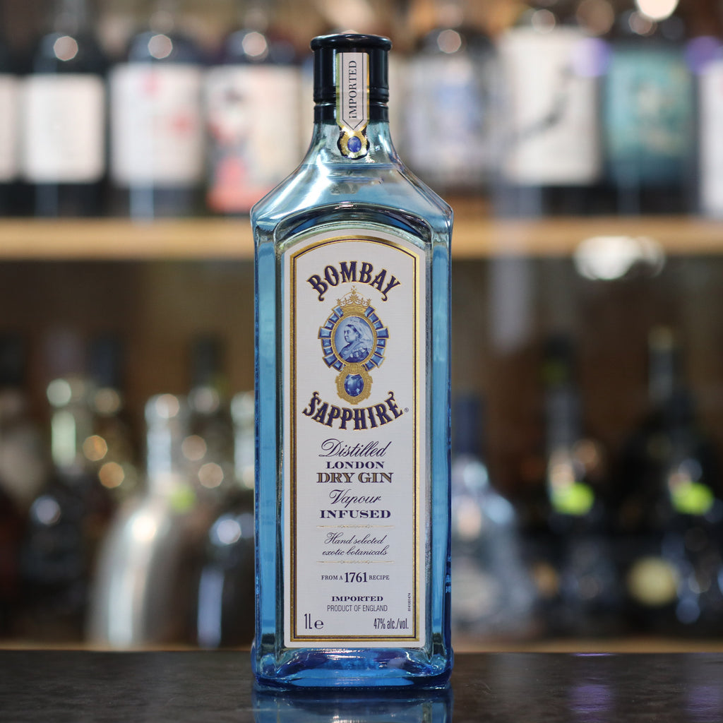 Bombay Sapphire London Dry Gin - 1L/47%
