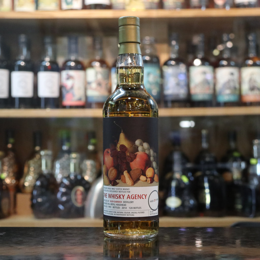 The Whisky Agency Glen Garioch 1993/2014 21YO - 70cl/52.9%