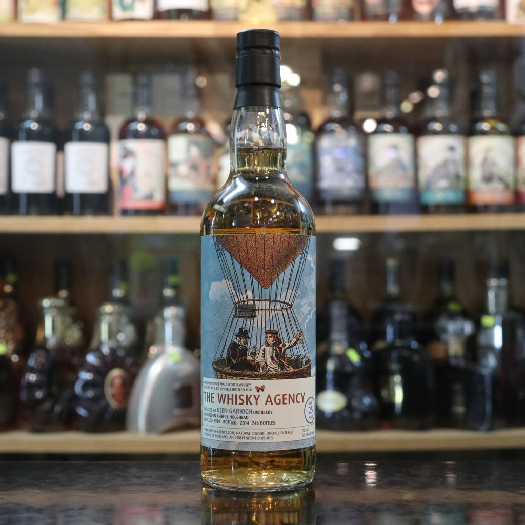 The Whisky Agency Glen Garioch 1989/2014 25YO - 70cl/50.3%