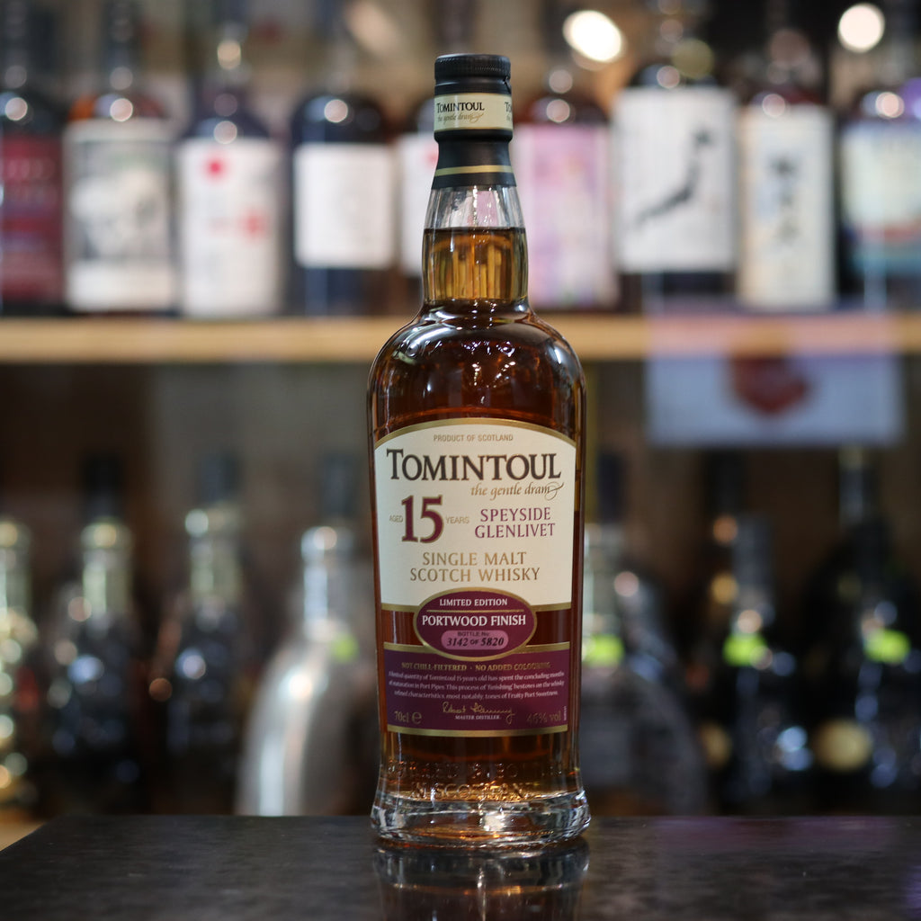 Tomintoul 15 Limited Port Wood Finish - 46%/70cl