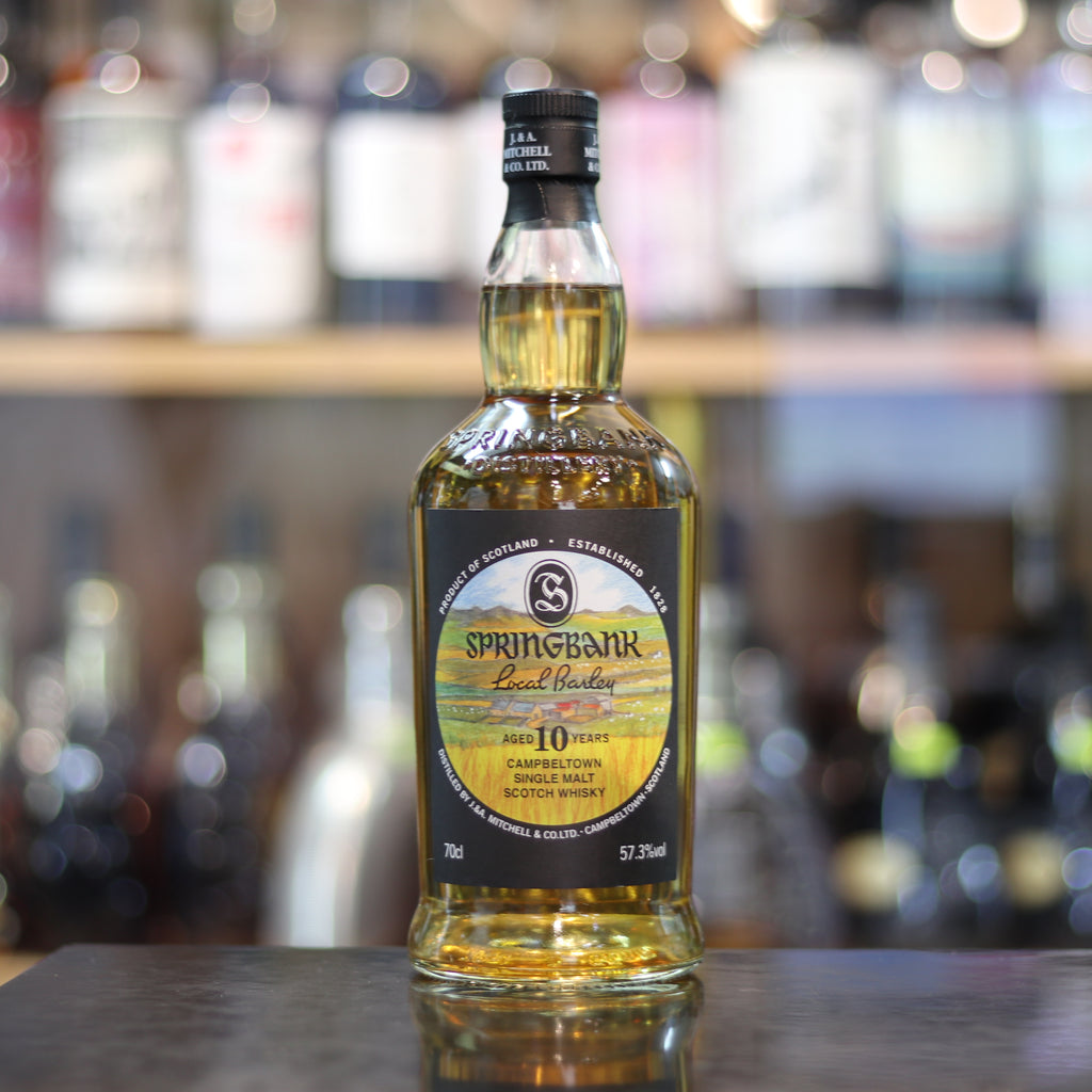 Springbank 10YO Local Barley 2017 - 70cl/57.3%