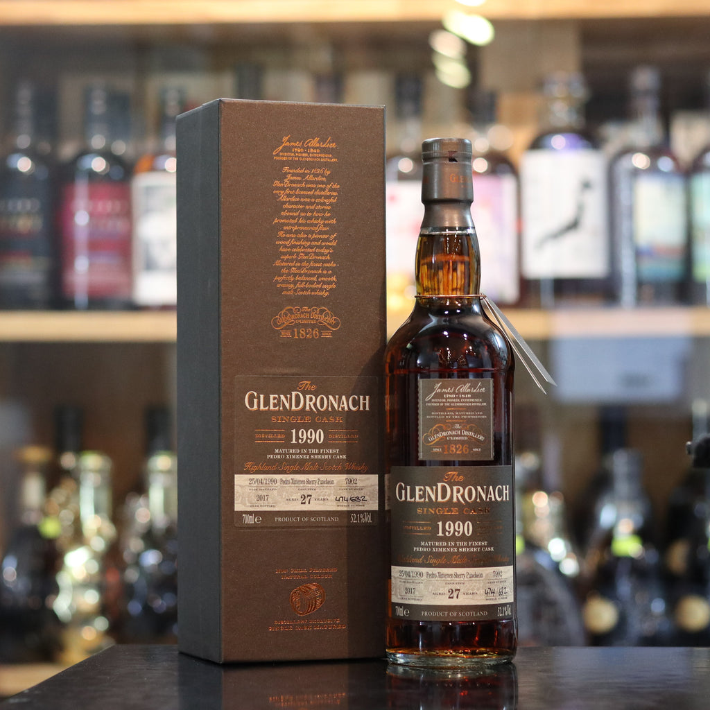 Glendronach 1990/2017 27YO Batch 16 Single Cask #7002 - 70cl/52.1%