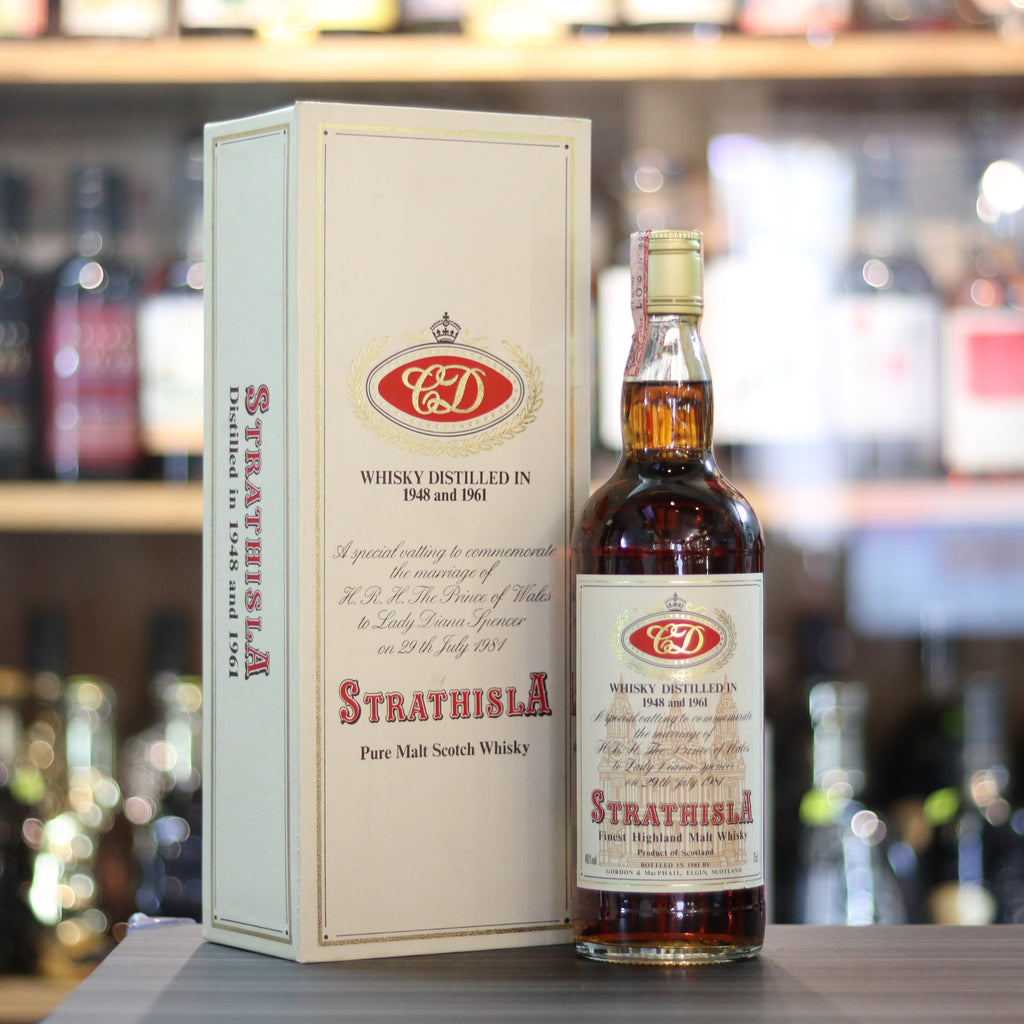 Strathisla Royal Marriage Distilled in 1948 & 1961 - 70cl/40%