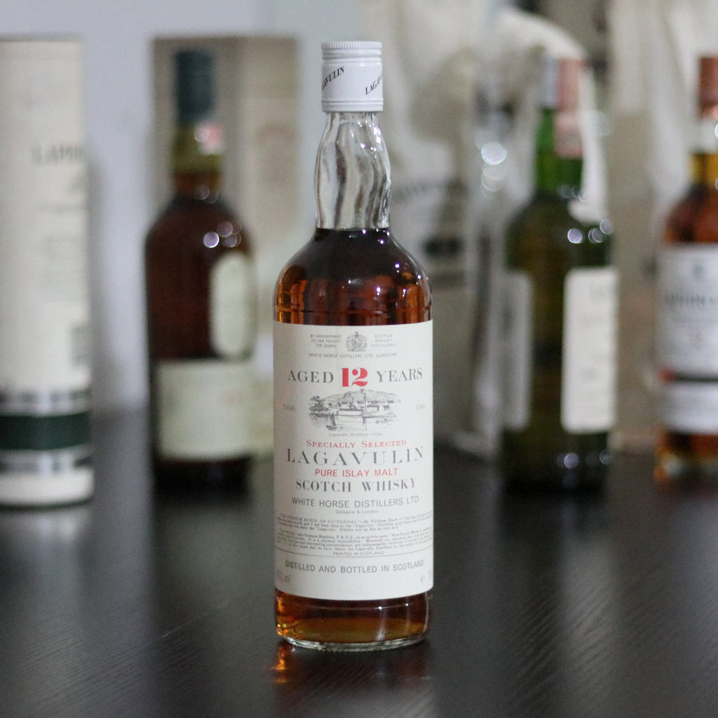 Lagavulin 12 White Horse 1970s - 75cl/43%