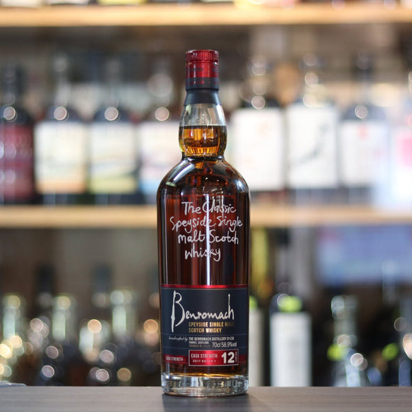 Benromach 12 Cask Strength Batch 1 - 70cl/58.9%