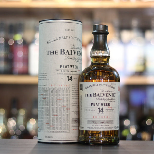 Balvenie 14YO Peated Week 2003 - 70cl/48.3%