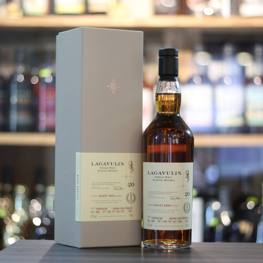Lagavulin Single Cask #001 天帝威 1997/2017 - 70cl/56.1%