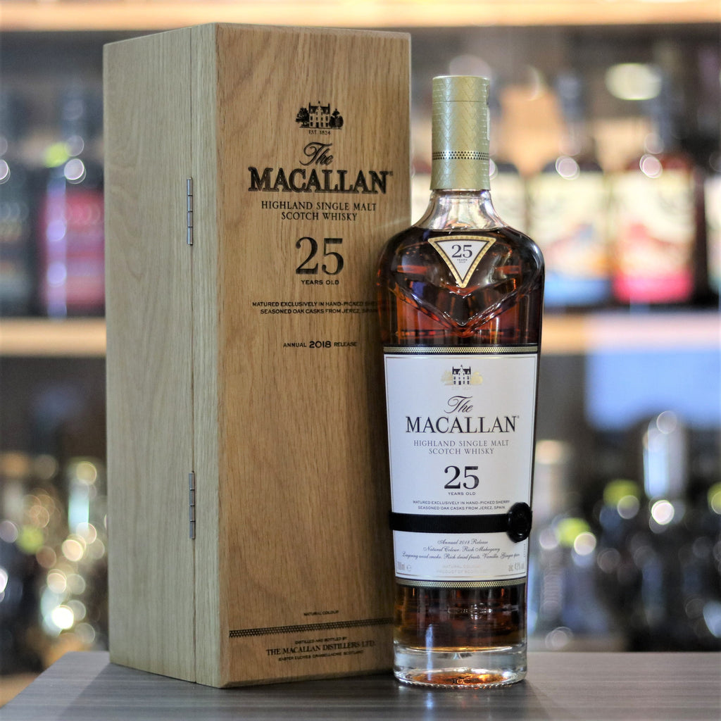 Macallan 25YO Sherry Oak bot.2018 - 70cl/43%