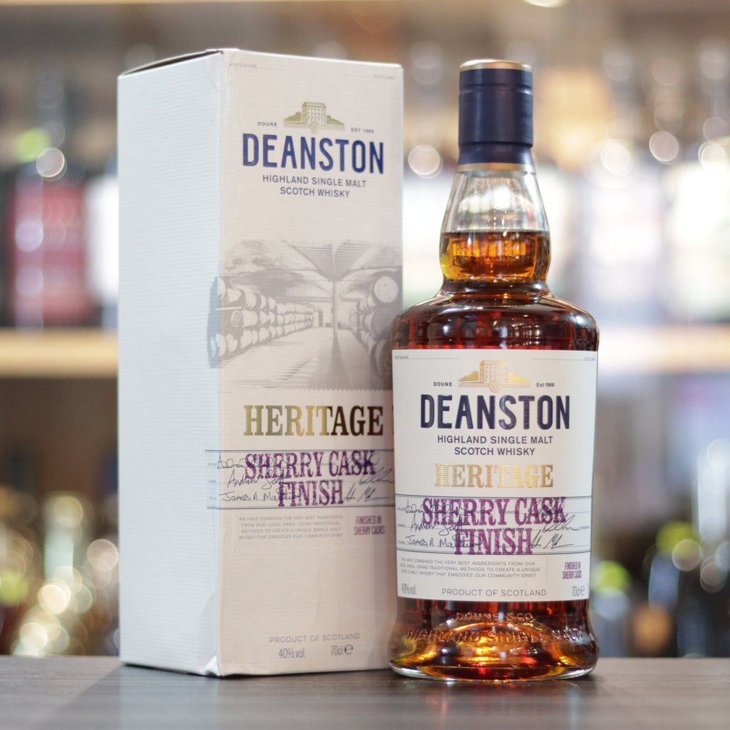 Deanston Sherry Cask Finish Heritage - 70cl/40%