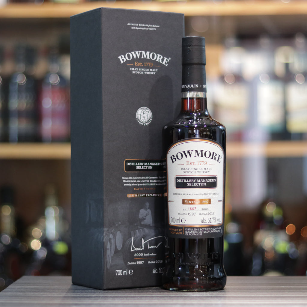Bowmore 1997/2019 Distillery Manager's Selection - 70cl/51.7%