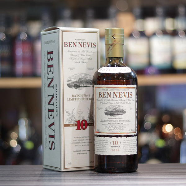 "Ben Nevis 2008 10YO ""First Fill Casks"" Batch no.1 - 70cl/62.4%"