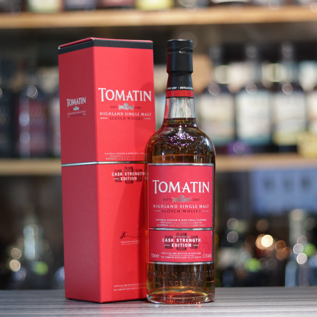 Tomatin Cask Strength - 70cl/57.5%