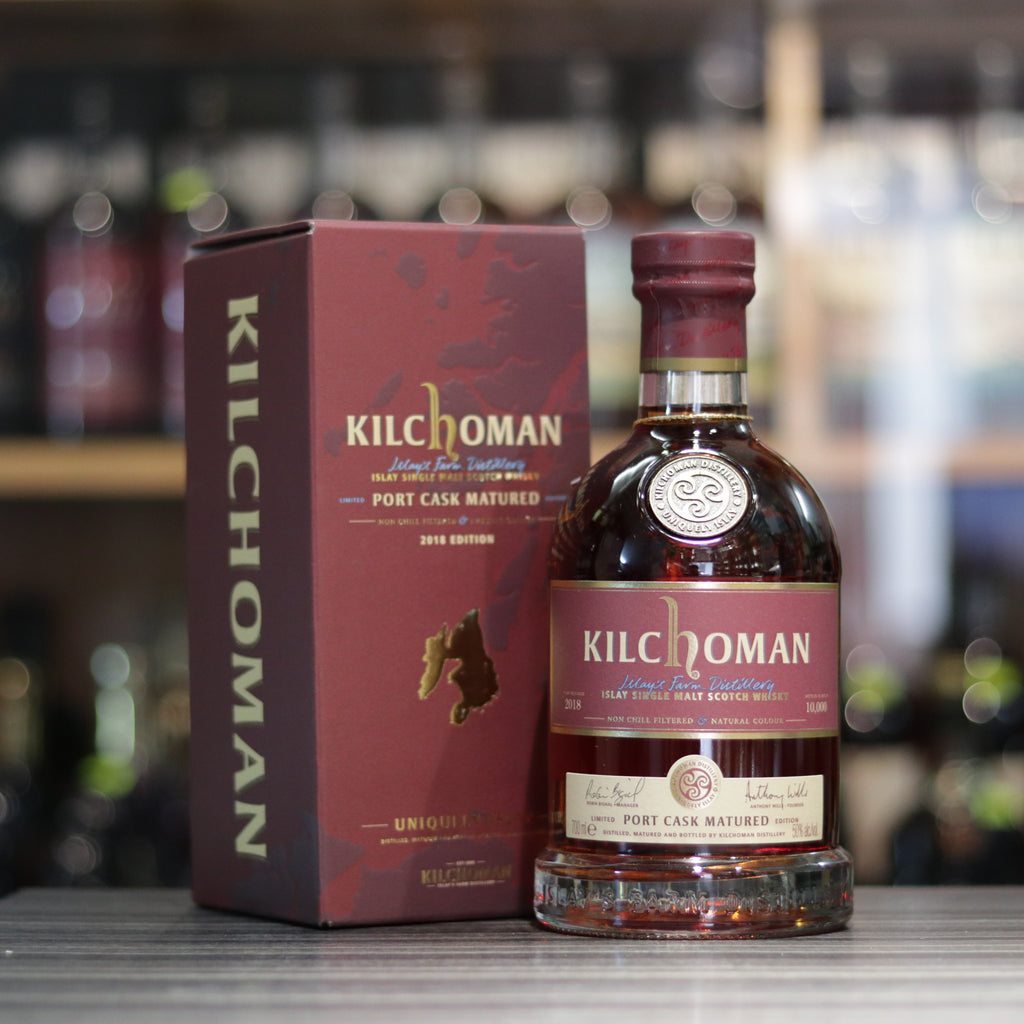 Kilchoman Port Cask Matured - 70cl/50%