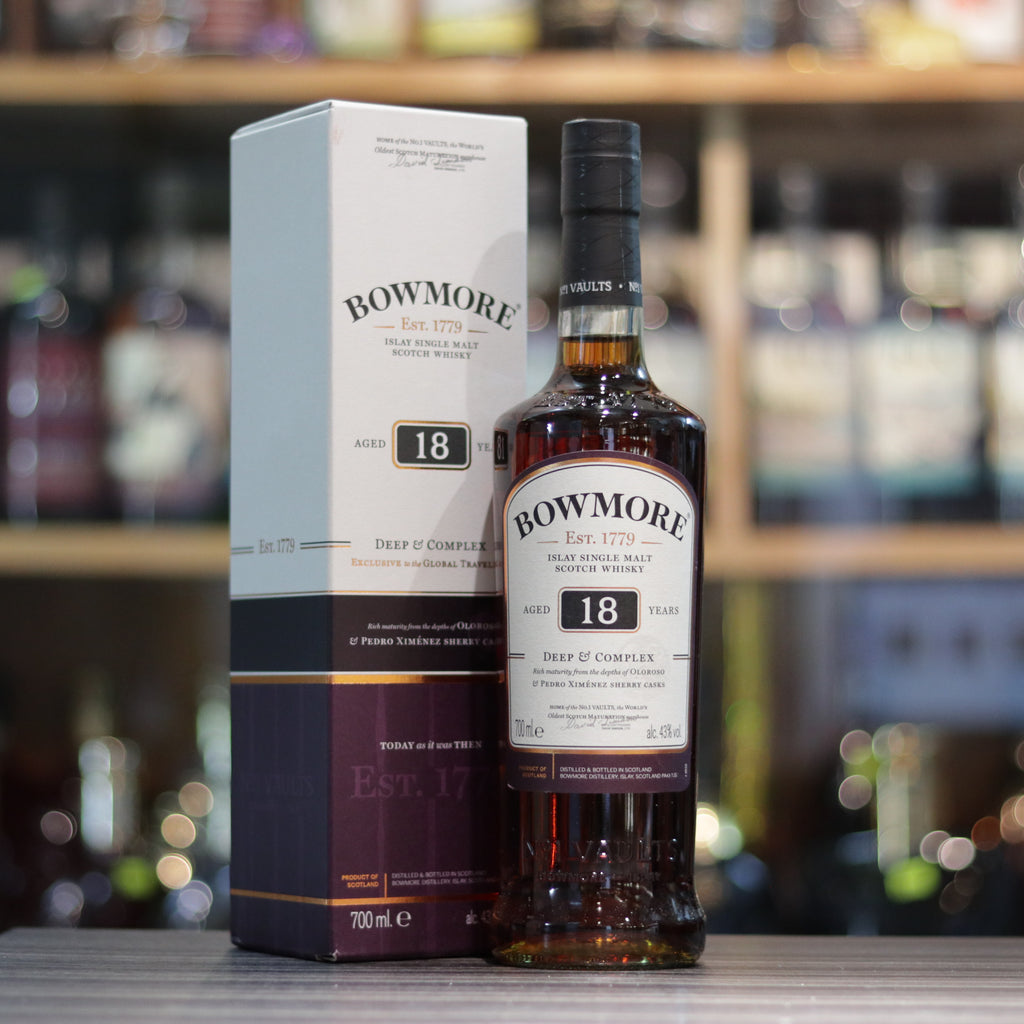 Bowmore 18YO Oloroso & PX Sherry Casks - 70cl/43%