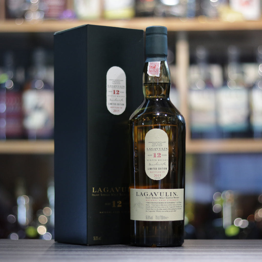 Lagavulin 12YO (Bottled 2015) - 70cl/56.8%