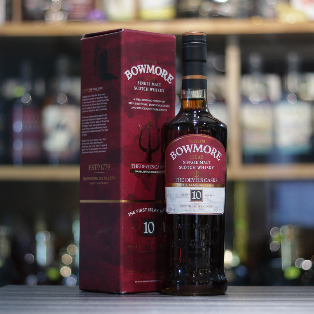 Bowmore 10YO The Devil's Cask Limited Release II - 70cl/56.3%