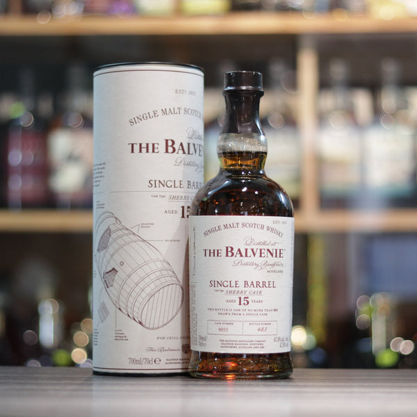 Balvenie 15YO Single Barrel Sherry Cask - 70cl/47.8%