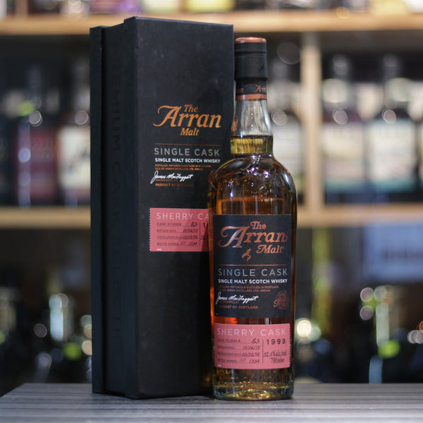 Arran Single Cask 1998/2015 Cask#83 - 70cl/52.3%