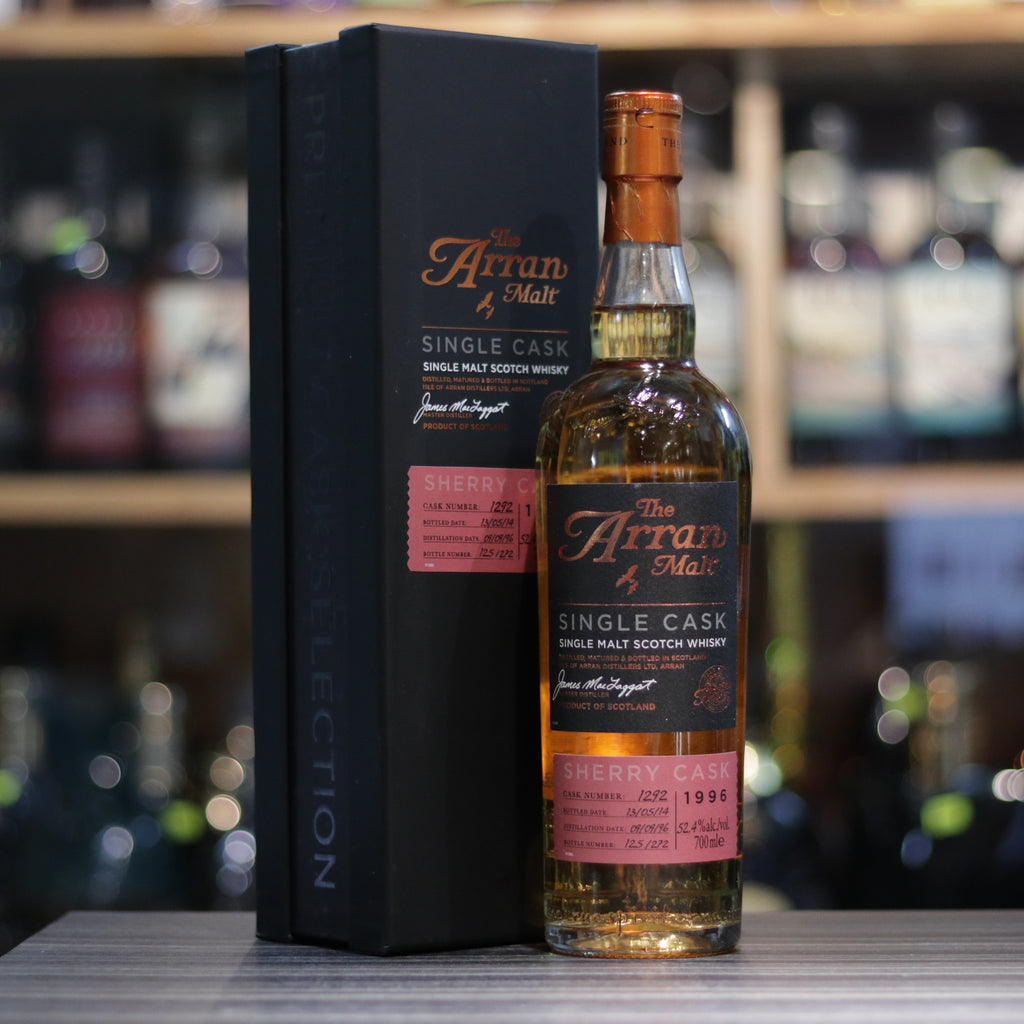 Arran Single Cask 1996/2014 Cask#1292 - 70cl/52.4%