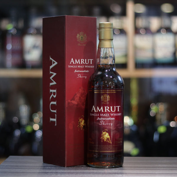 Amrut Intermediate Sherry - 70cl/57.1%