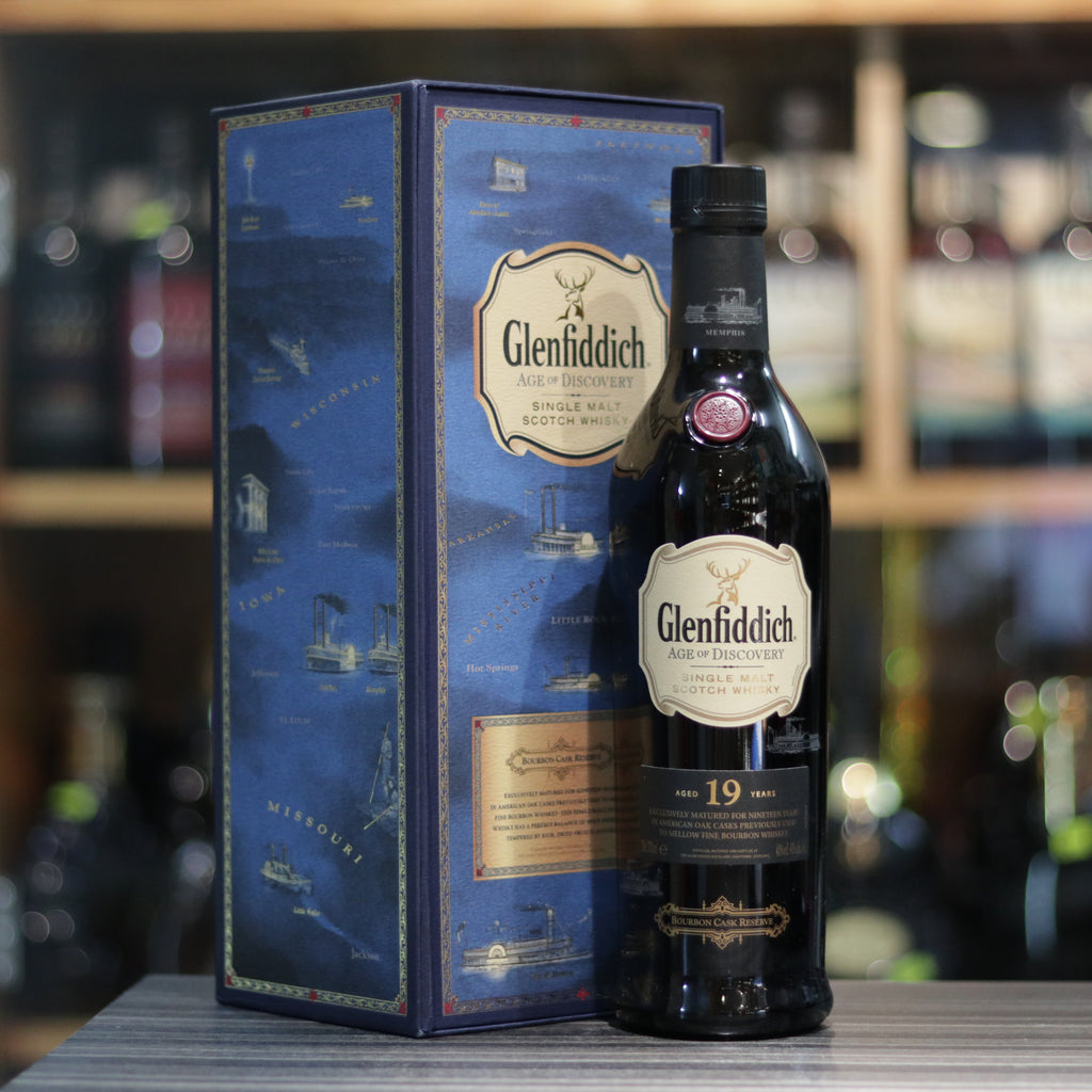 Glenfiddich 19YO Aged of Discovery Bourbon Cask Reserve - 70cl/40%