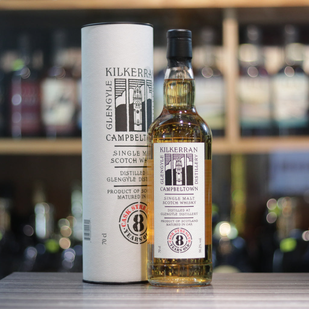 Kilkerran 8YO Cask Strength (2016) - 70cl/56.2%
