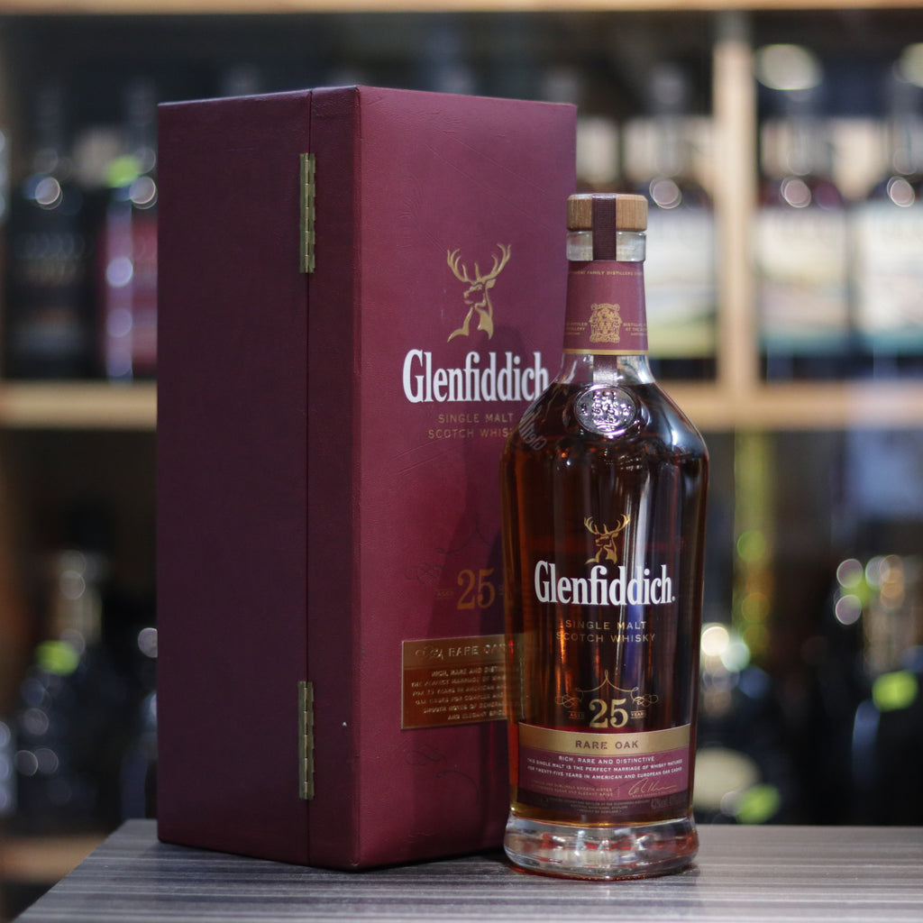 Glenfiddich 25YO Rare Oak - 70cl/43%