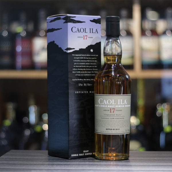 Caol Ila 17YO Unpeated Cask Strength - 70cl/55.9%