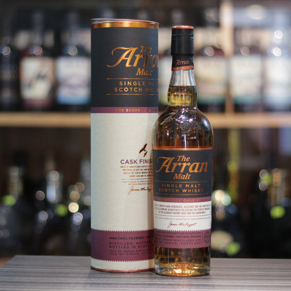 Arran The Sherry Cask Finish - 70cl/50%