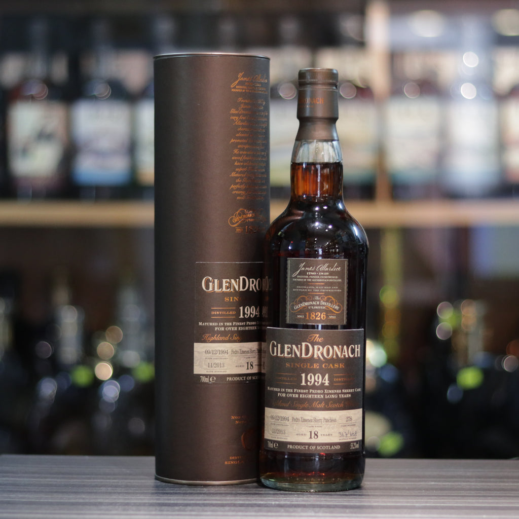 Glendronach Single Cask 1994 #278 18YO - 70cl/55.2%