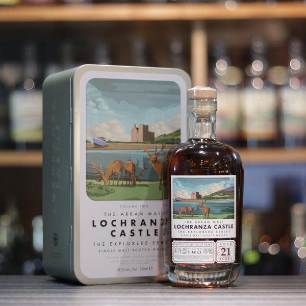 "Arran The Explorers Series ""Lochranza Castle"" 21YO - 70cl/47.2%"