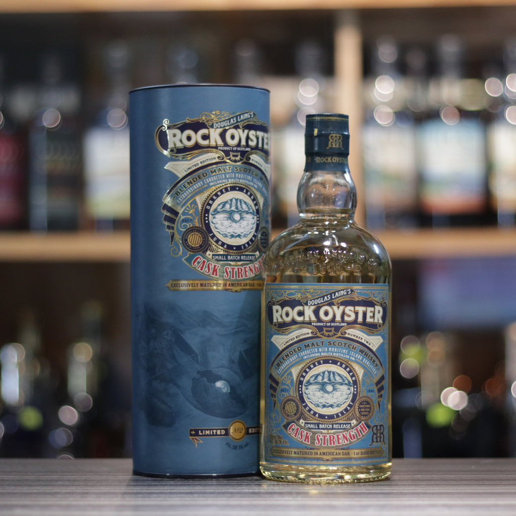 Rock Oyster Cask Strength - 70cl/56.1%