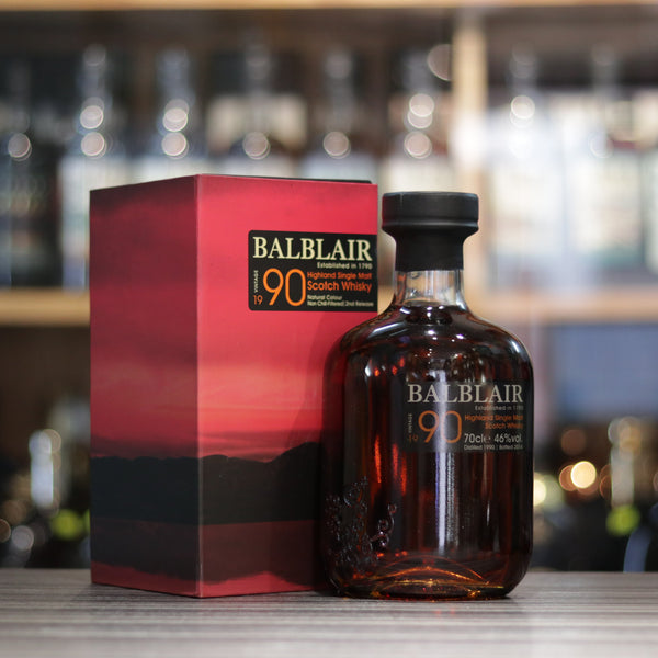 Balblair 1990 (Bottled 2014) 1st Release - 70cl/46%
