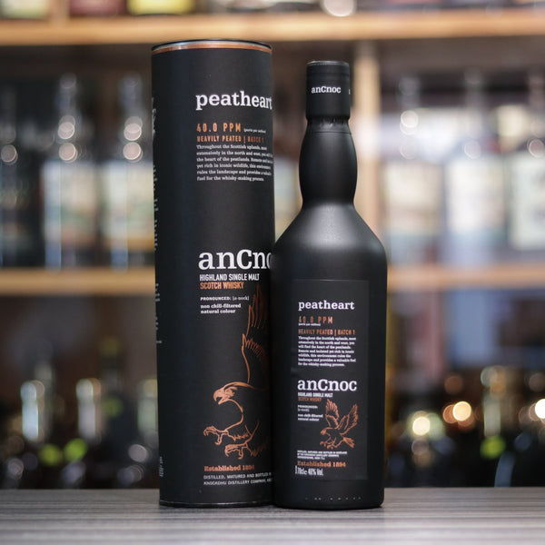 Ancnoc peatheart Heavily Peated Batch 1 - 70cl/46%