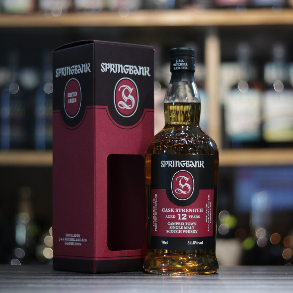 Springbank 12YO Cask Strength (batch18) - 70cl/54.8%