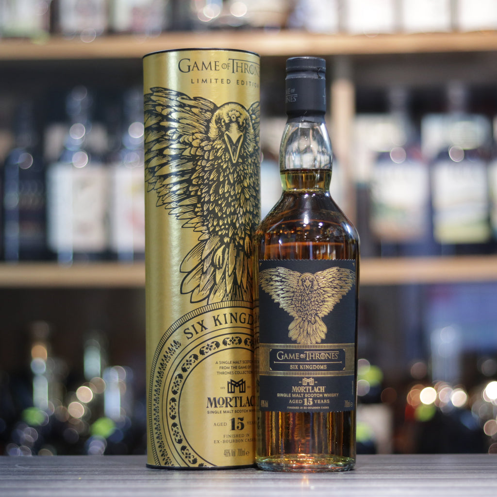 Mortlach 15 Year Old Game of Thrones Six Kingdoms - 70cl/46%