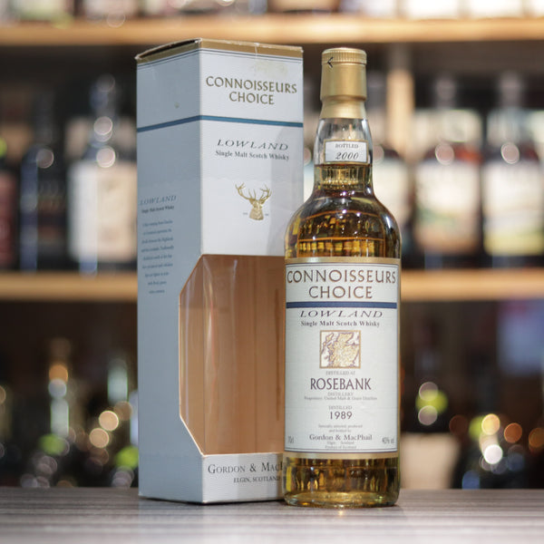 Rosebank 1989/2000 G&M Connoisseurs Choice - 70cl/40%