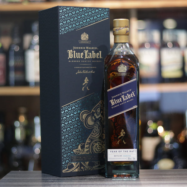 Johnnie Walker Blue Label Year of Rat Edition 2020 - 75cl/40%
