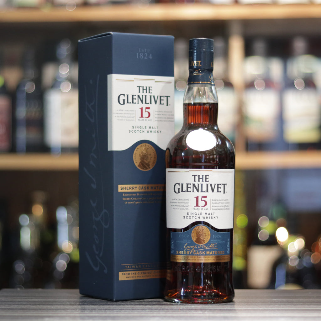 Glenlivet 15YO Sherry Cask Matured - 70cl/40%