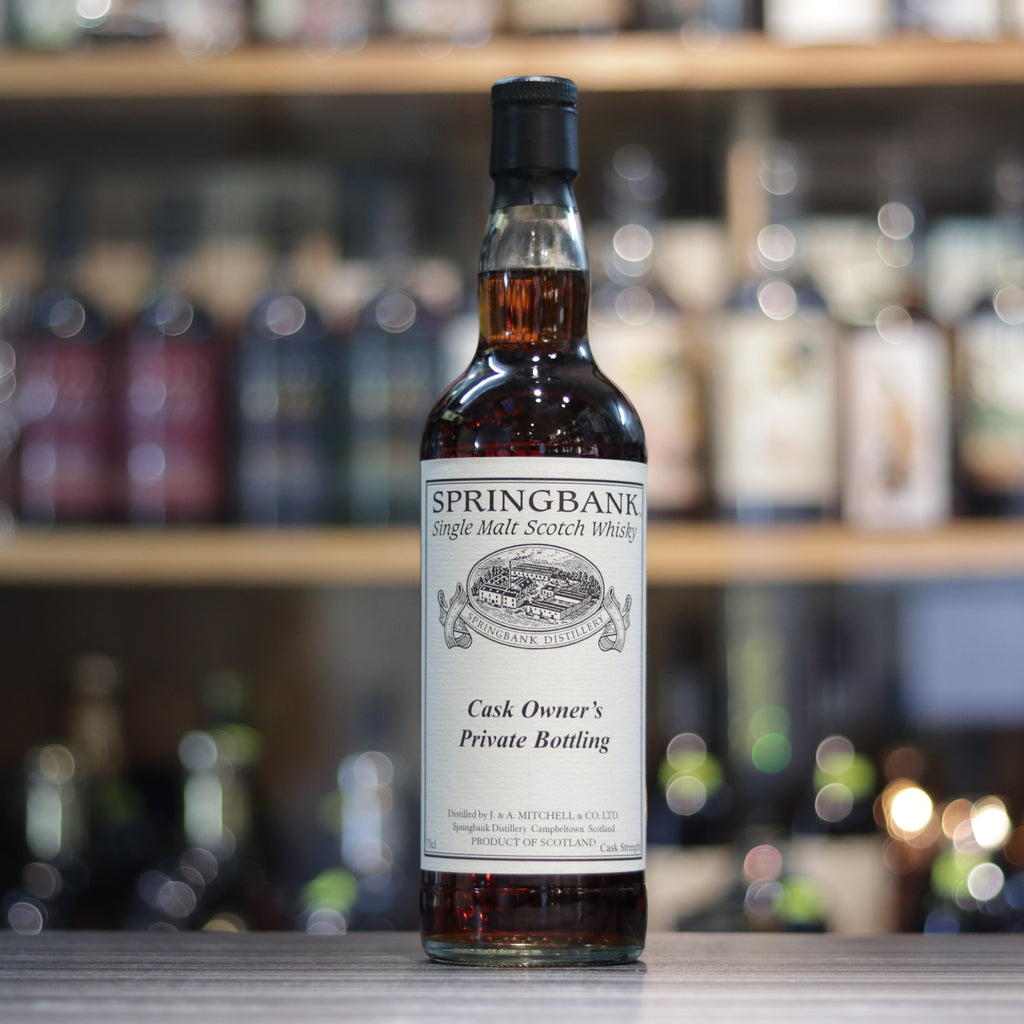 Springbank Cask Owner's Private Bottling - 70cl