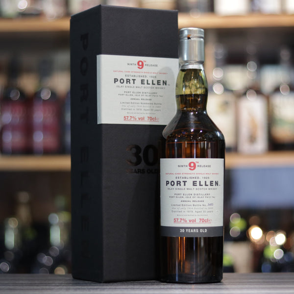 Port Ellen 9th Release 30YO - 70cl/57.7%