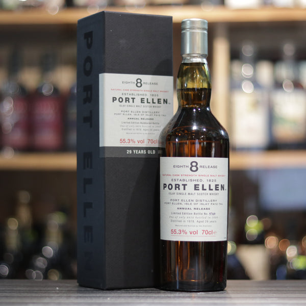Port Ellen 8th Release 29YO - 70cl/55.3%