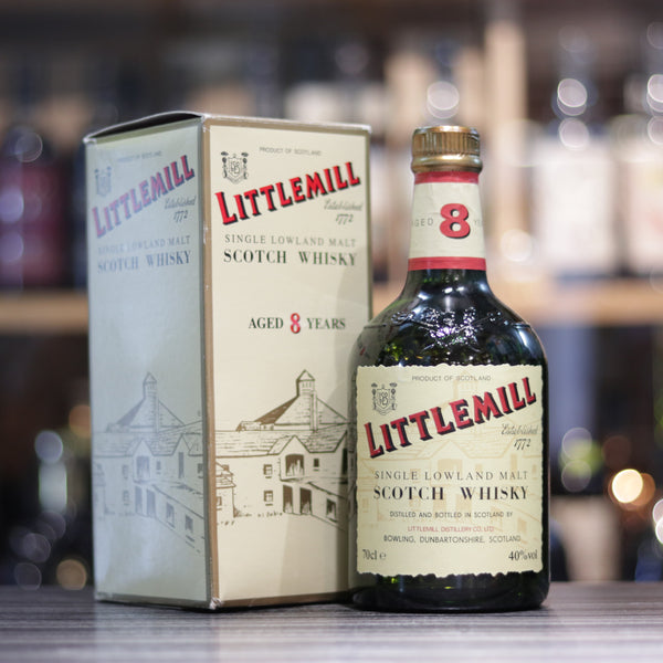 Littlemill 8YO 1990s- 70cl/40%