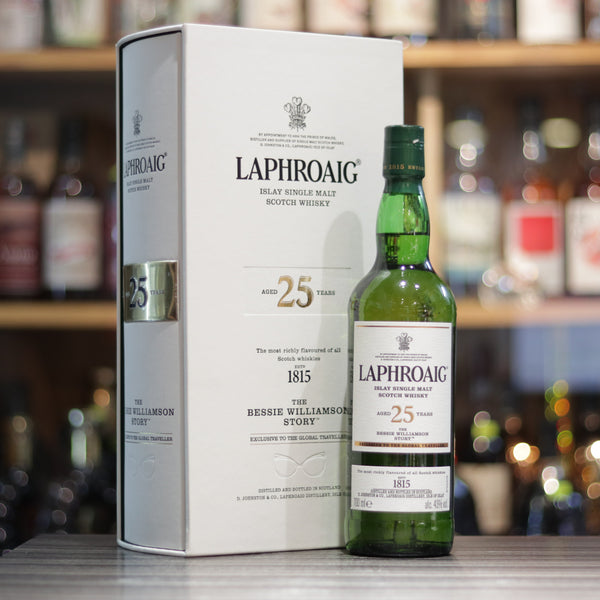 Laphroaig 25YO The Bessie Williamson Story - 70cl/43%