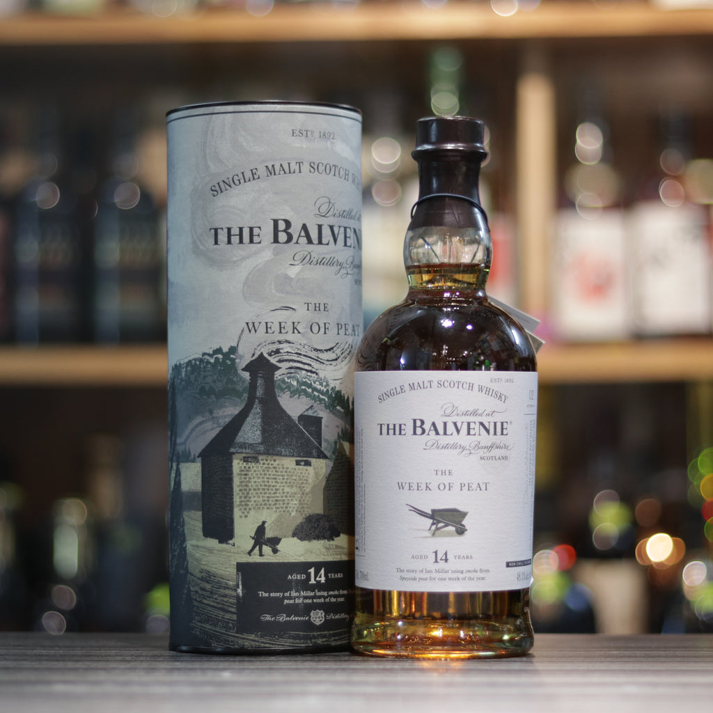 Balvenie 14YO The Week of Peat - 70cl/48.3%