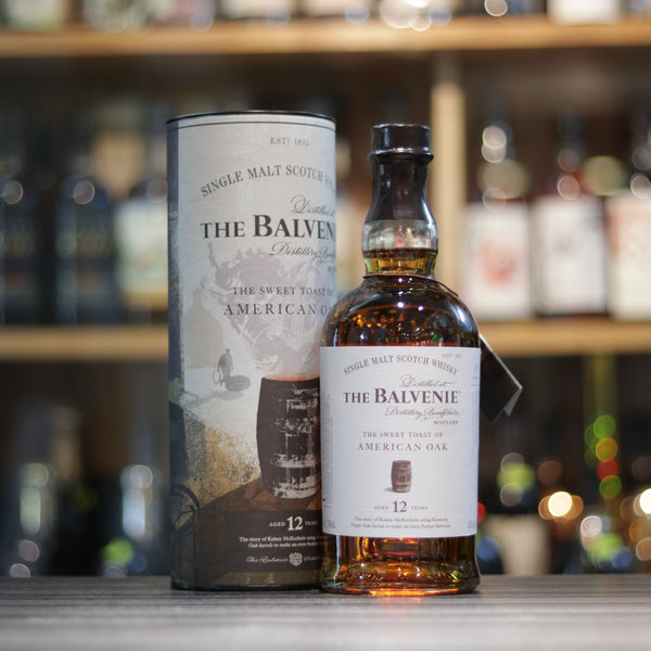 Balvenie 12YO The Sweet Toast of American Oak - 70cl/43%