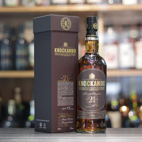 Knockando 21YO 1994 - 70cl/43%