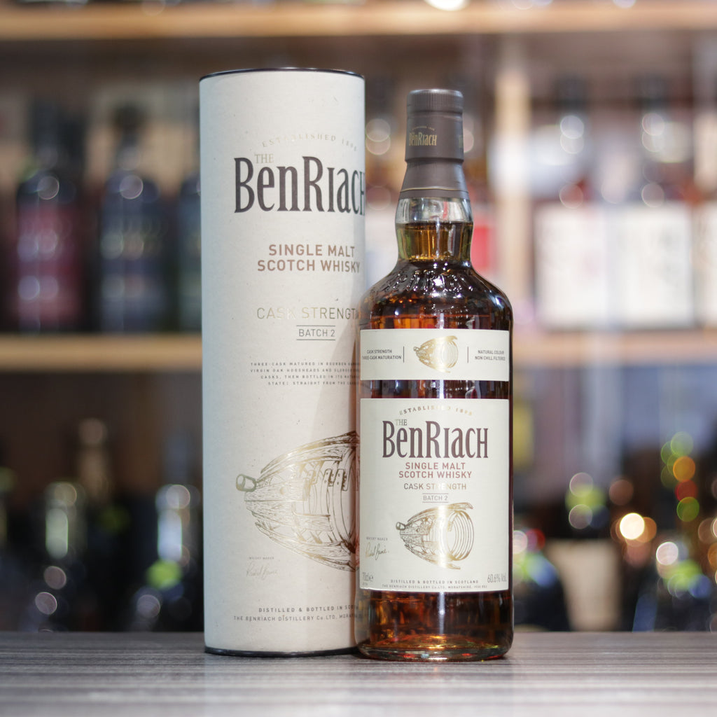 BenRiach Cask Strength Batch 2 - 70cl/60.6%